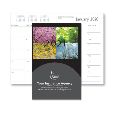 Picture of Colorful Trees Monthly Pocket Planner (CB09)