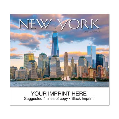 Picture of New York State Wall Calendar