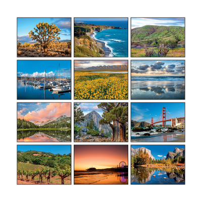 Picture of California State Wall Calendar