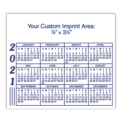 Picture of Maxi Calendar Magnet