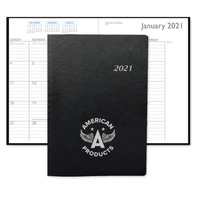 Picture of Leatherette Monthly Desk Planner