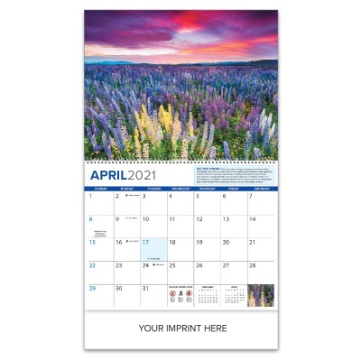 Picture of Trusted Choice® Scenic Wall Calendar