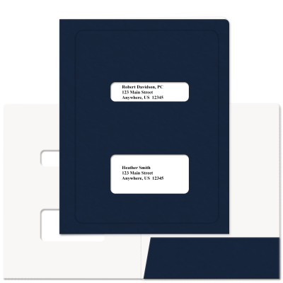 Picture of Soft-Touch Double Window Tax Software Folders