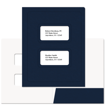 Picture of Soft-Touch Large Window Tax Software Folders