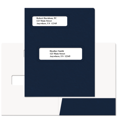 Picture of Soft-Touch Offset Small Window Tax Software Folders