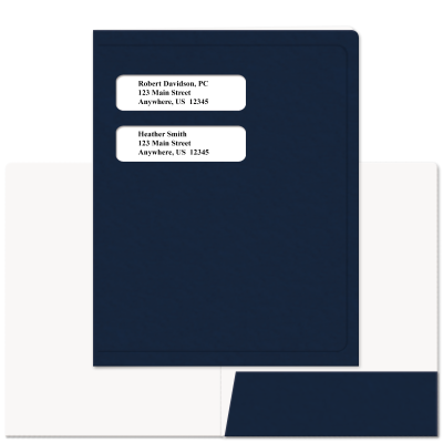 Picture of Soft-Touch Small Window Tax Software Folders