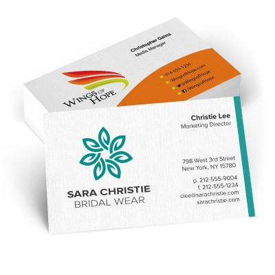 Picture of Linen Business Cards - 12 pt.