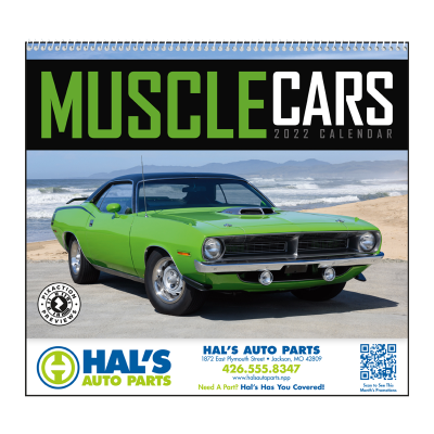 Picture of Muscle Cars Wall Calendar