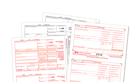 Preprinted Tax Forms