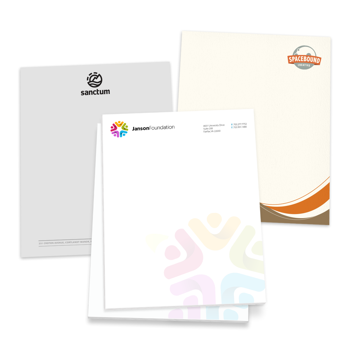 Personalized Papers Executive Stationery: Business Stationery