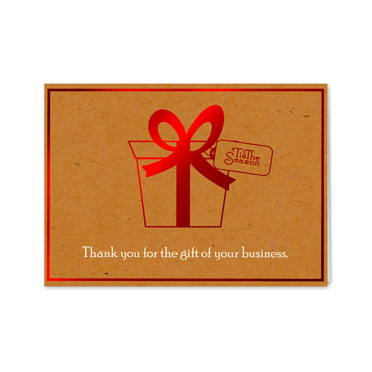 Holiday Business Appreciation Greeting Card