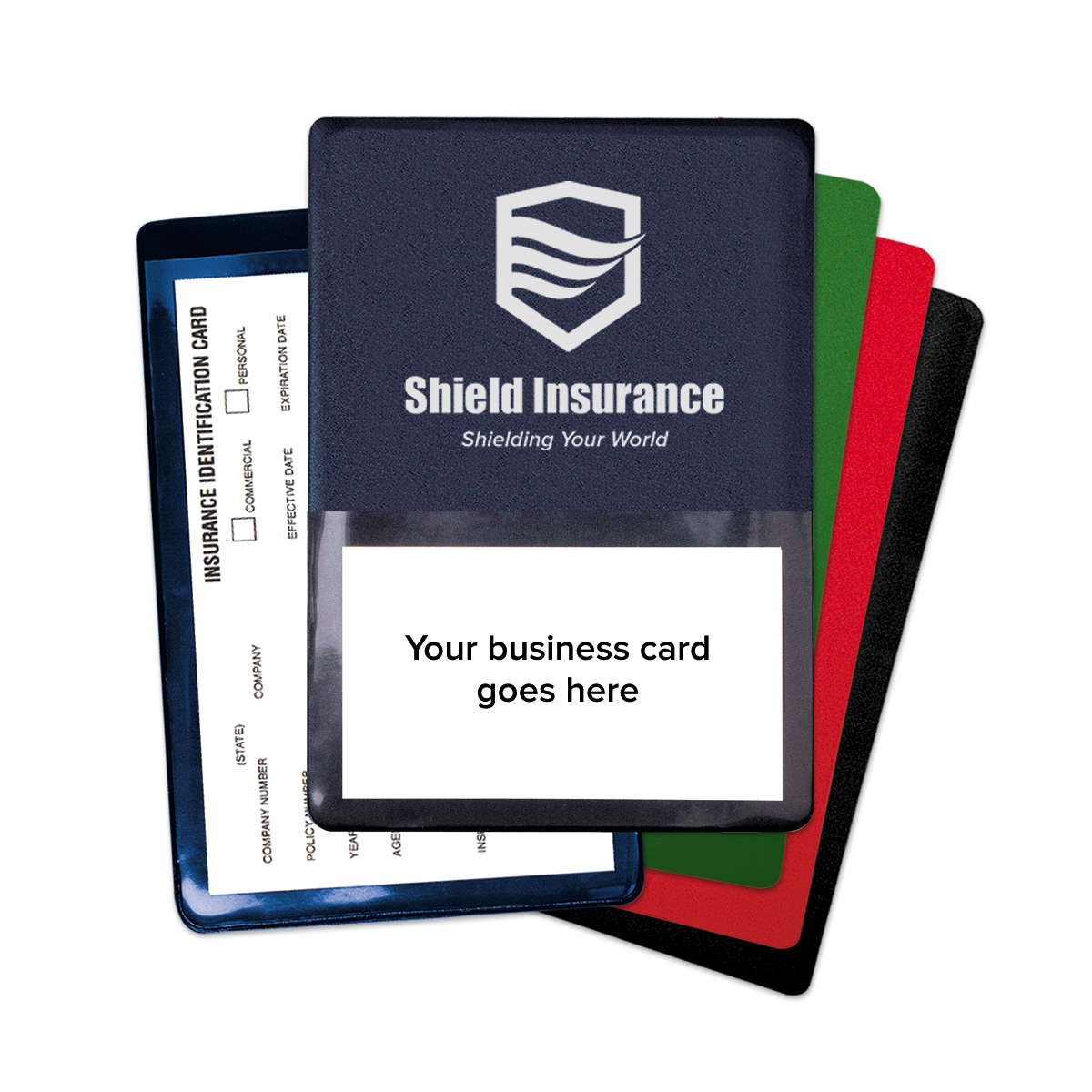 Agency Branded Insurance Card Holder Mines Press