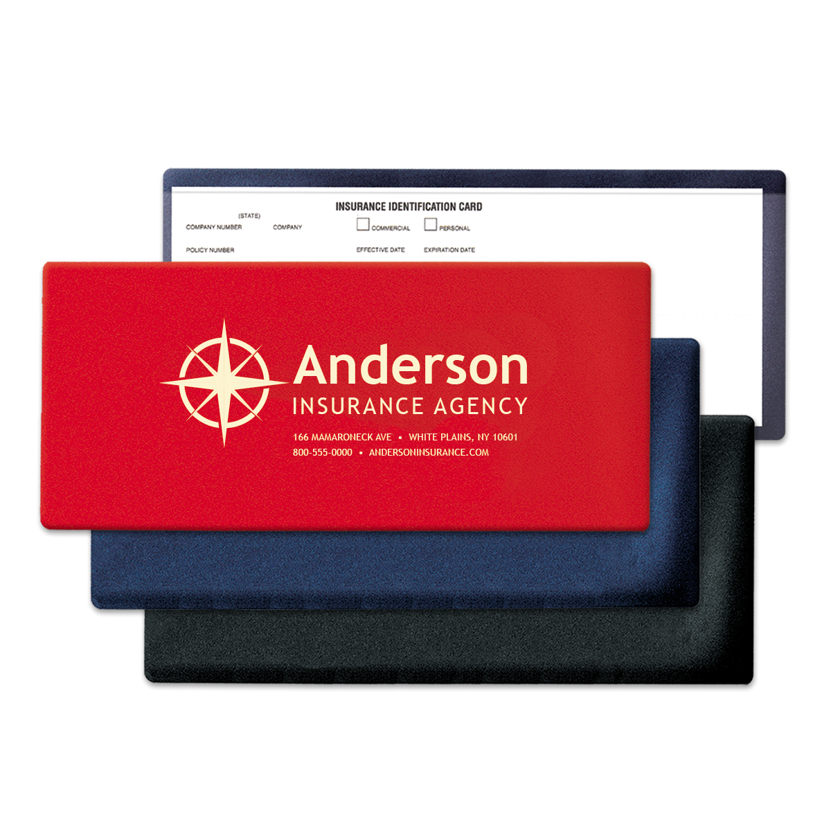Auto Id Insurance Card Holders Mines Press