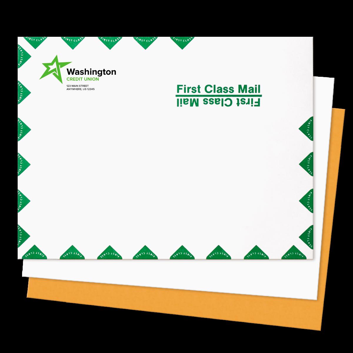 large mailing envelopes custom printed mines press