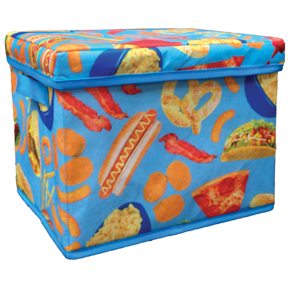 Picture Of Junk Food Collapsible Storage Bin