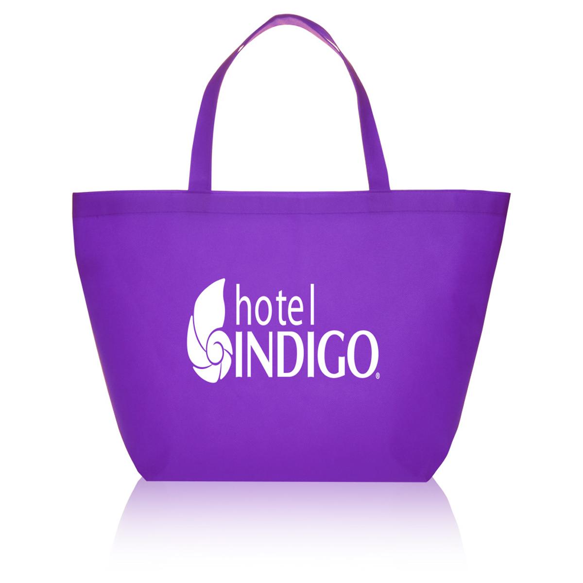 Very Non Woven Budget Shopper Tote Bag   Mines Press JK67