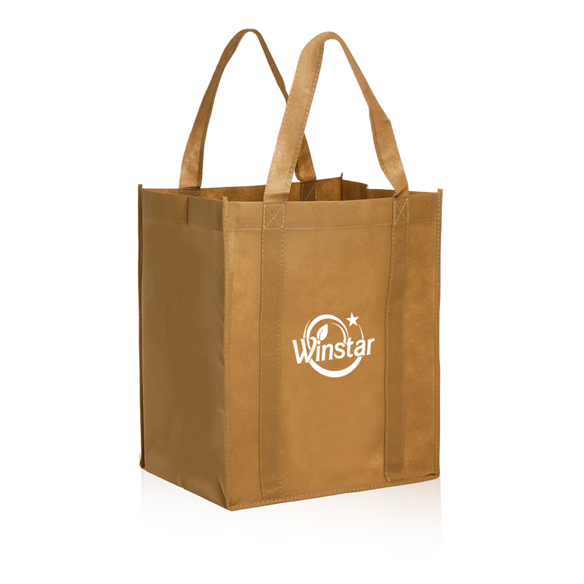 Reusable Grocery Tote Bag 13 X 15 X 10 Mines Press