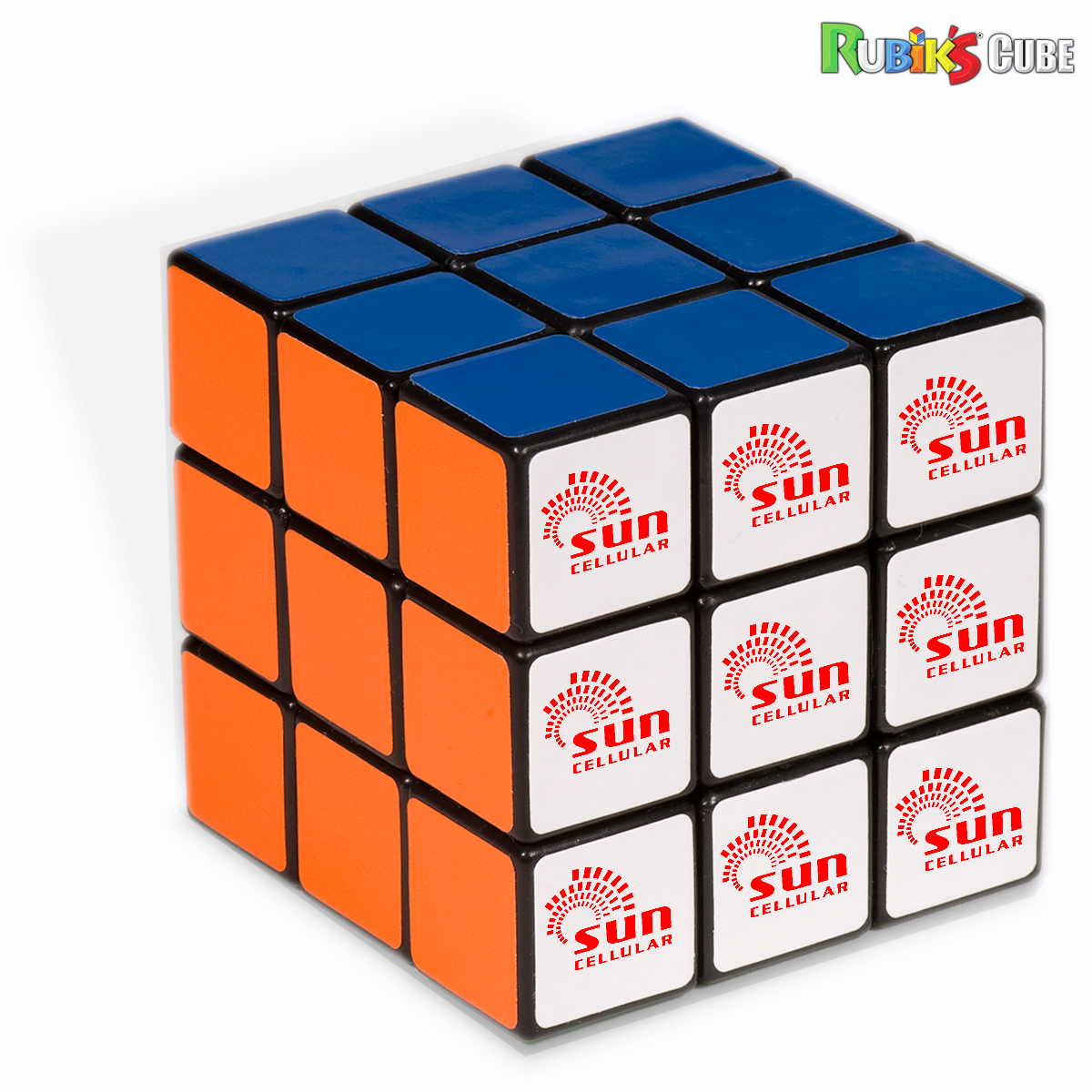 Picture of rubiks 9 panel full stock cube
