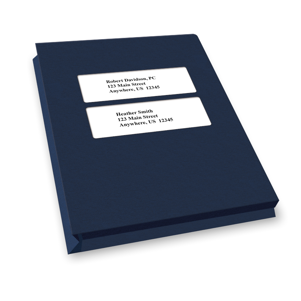 Expandable Double Centered Window Tax Software Folders