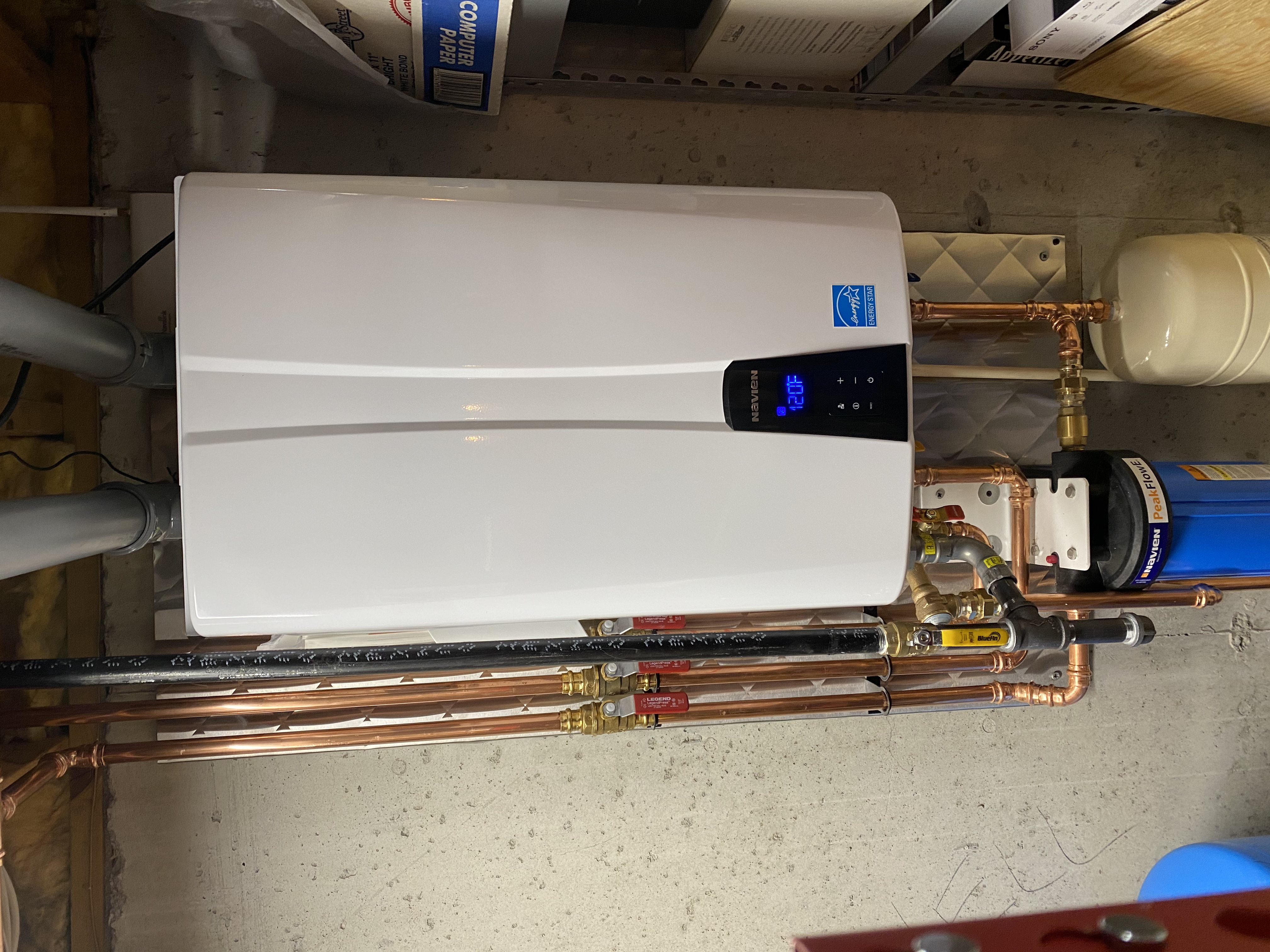 Gas Tankless Hot Water Heaters Clarkston, Michigan