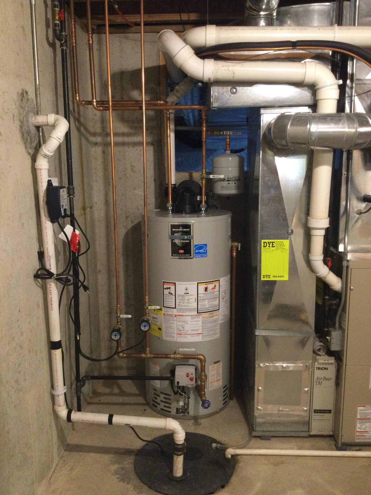 Gas Tank Water Heaters Michigan City, Indiana