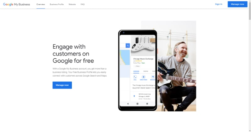 google meu negocio, google business