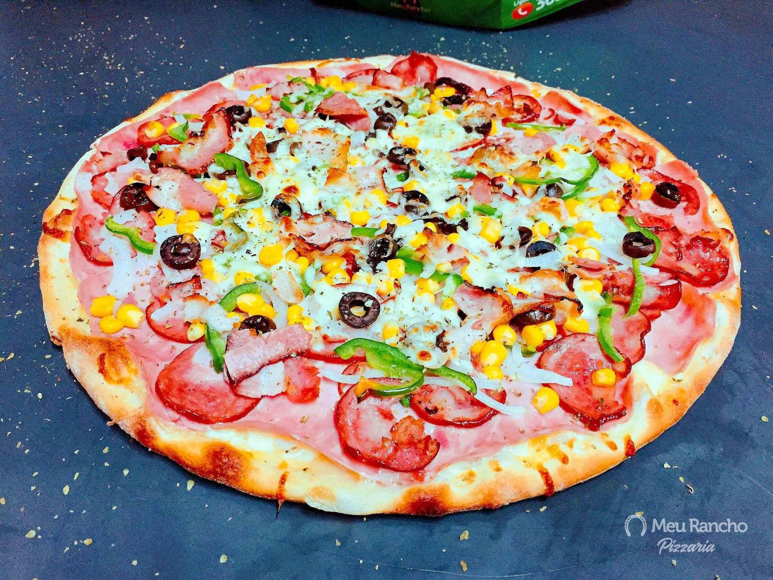 10 - Pizza à Moda Meu Rancho