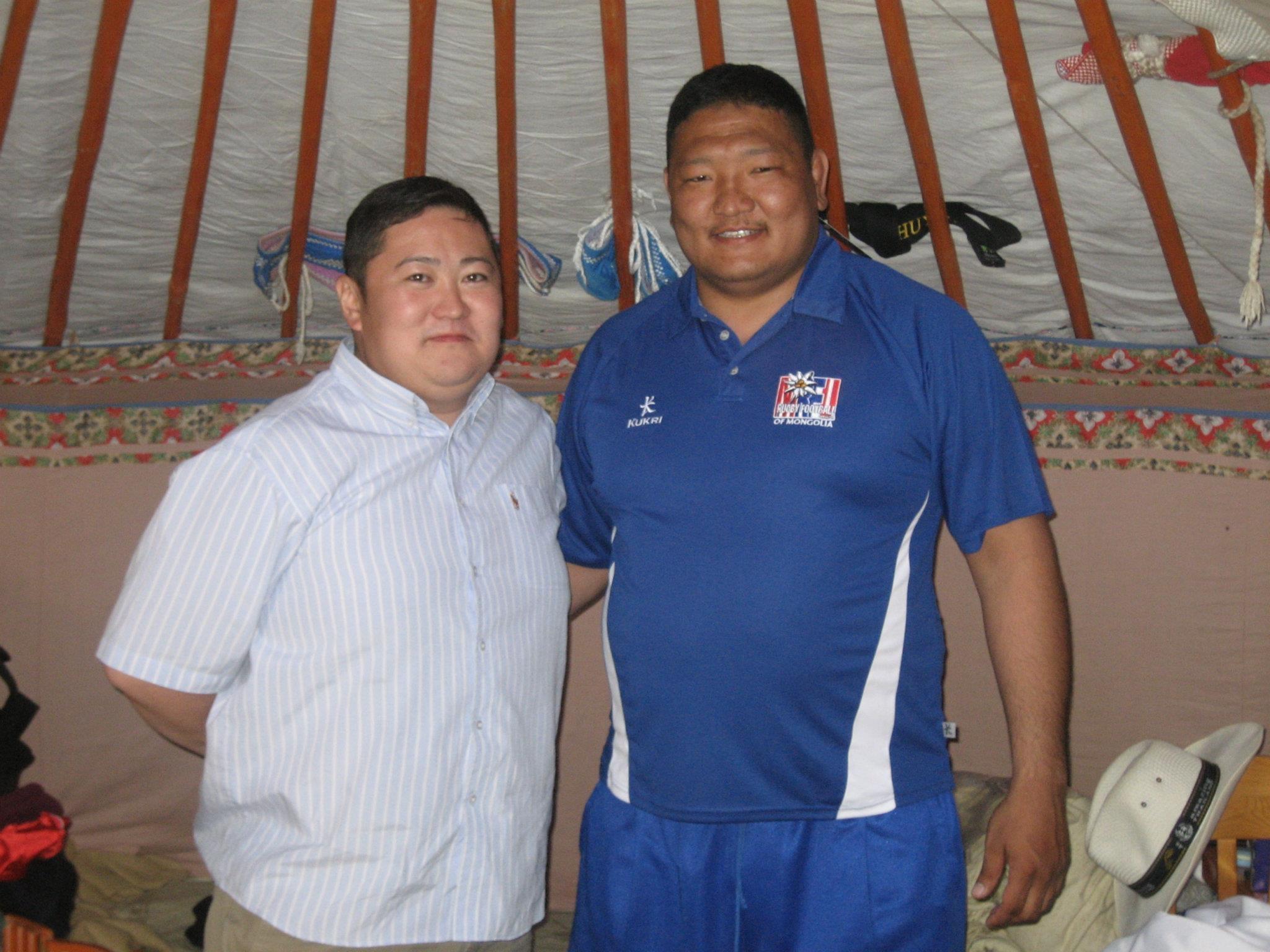 МРХ-ны Ерөнхийлөгч П.Батбаярын хамт 2009 он