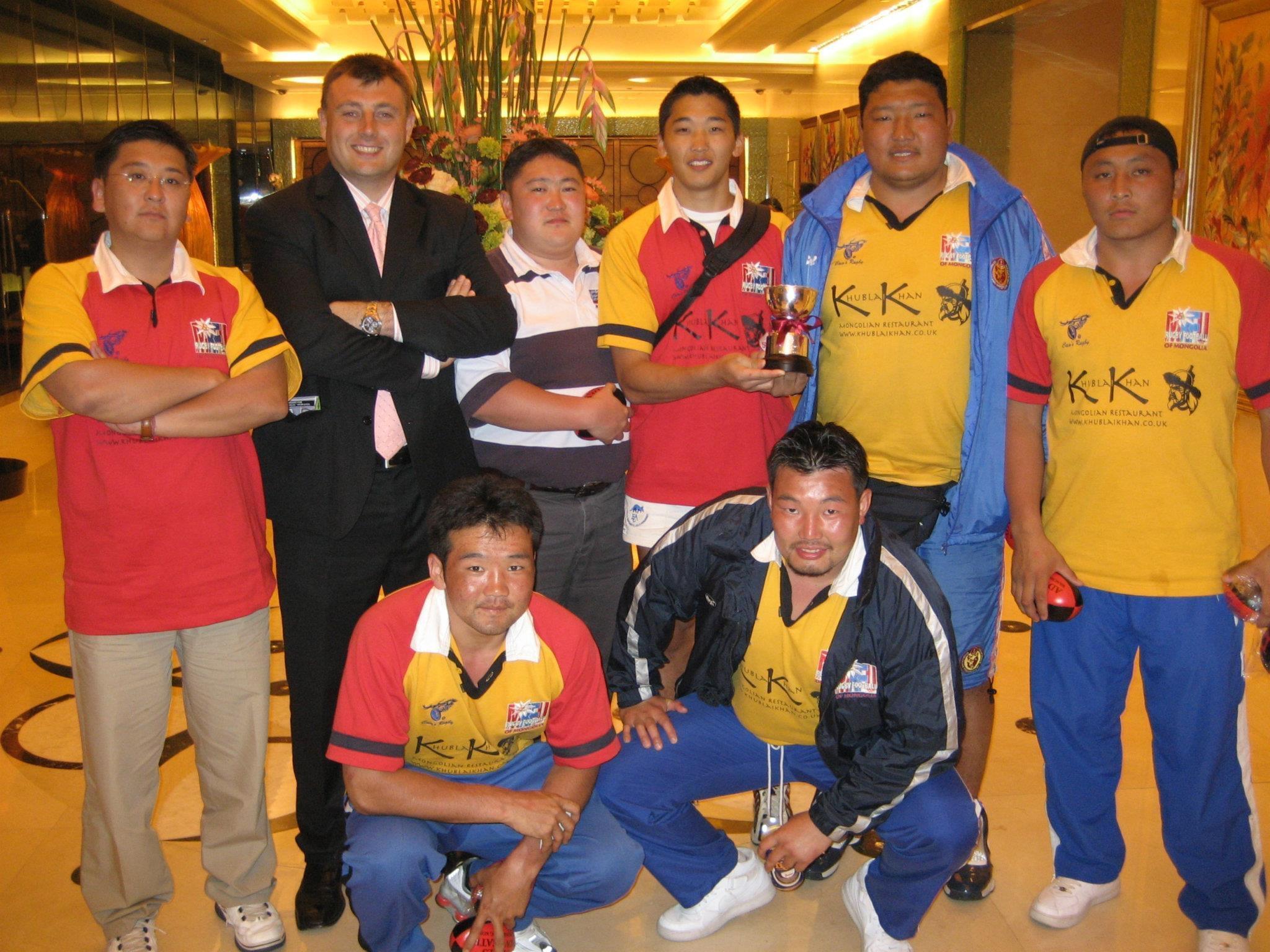 """2006 оны Хонг Конг Тэнс тэмцээн """"Боул буюу аяган цомны эзэд"""" Монголын Номадс баг"""