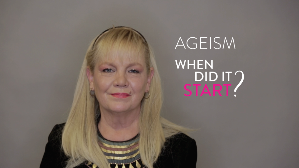 Ageism, it starts with you.