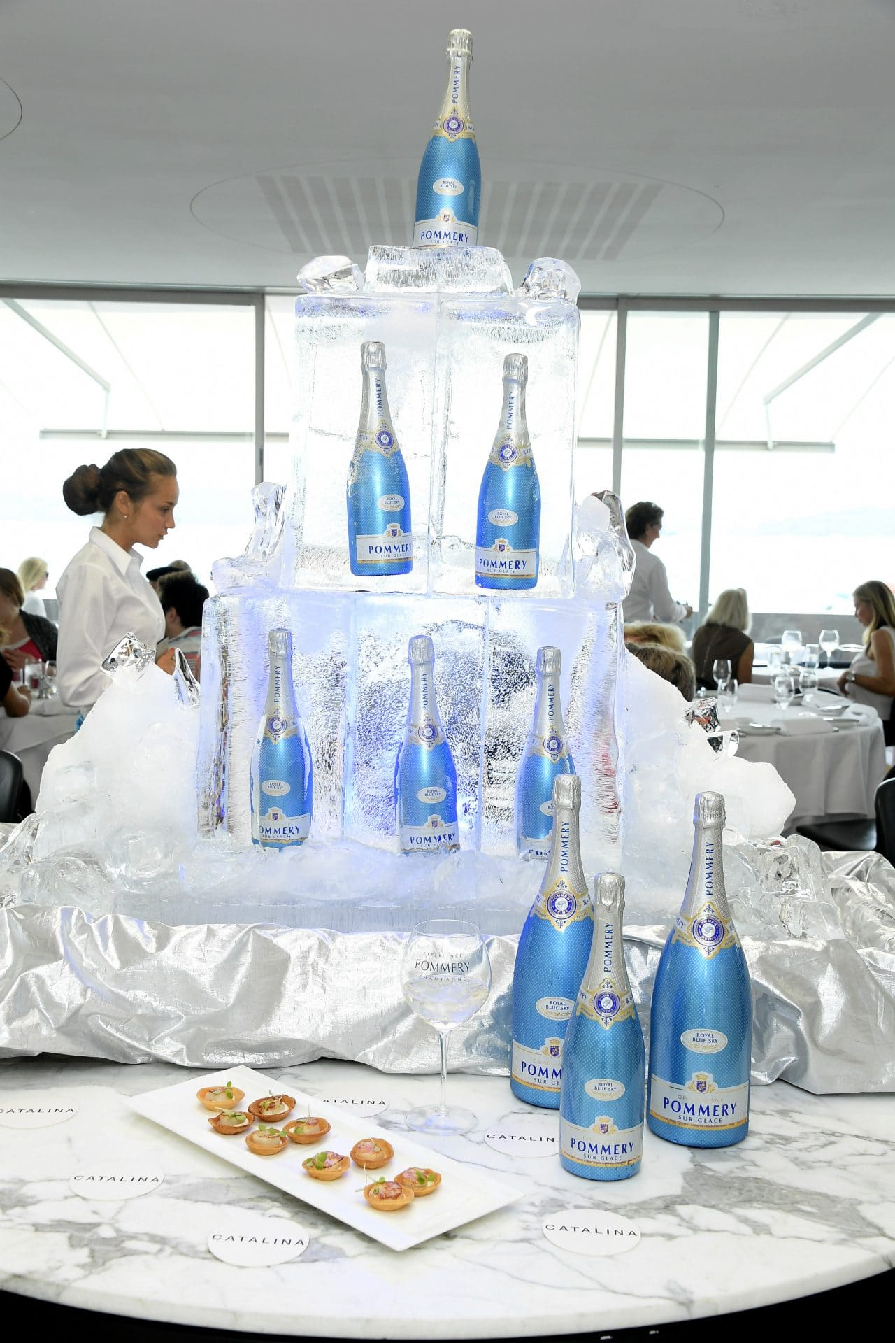 Catalina's with Pommery Ice Sculpture