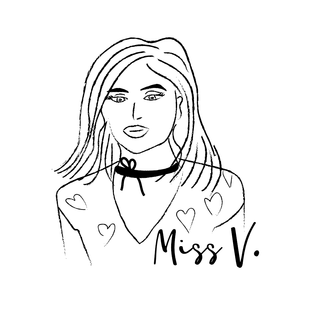 Miss V illustration