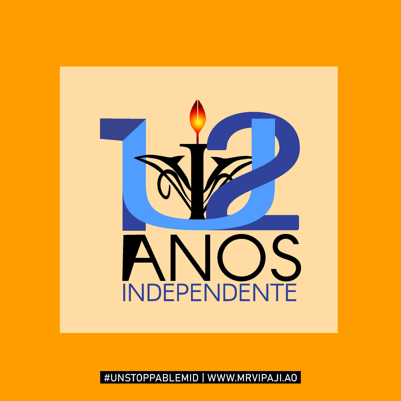 Logo 12 Anos UnIA (Design)