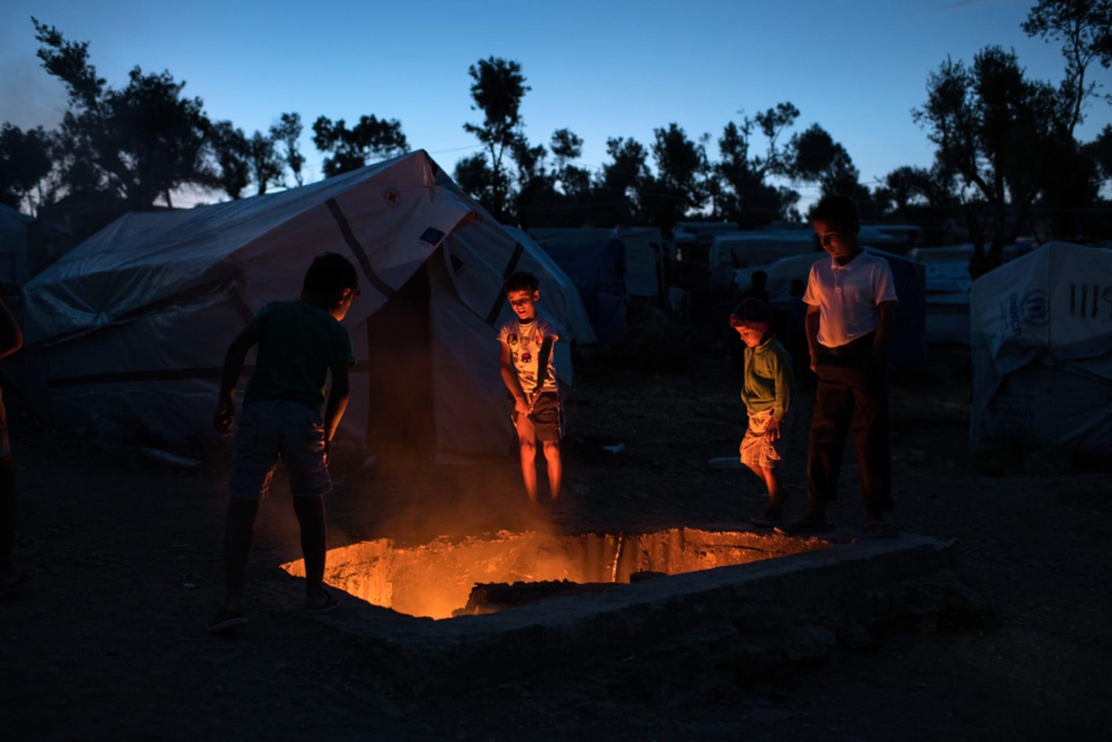 dfa78f3a Hellas: Unntakstilstand i flyktningleiren Moria på Lesbos | Leger Uten  Grenser