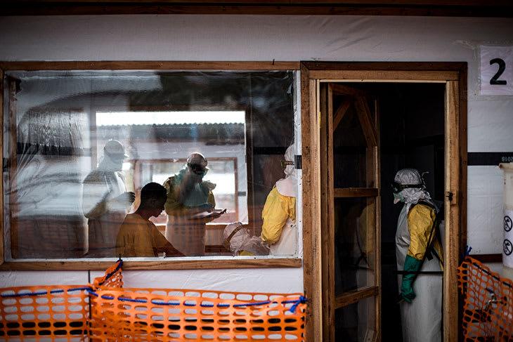 Ebola-utbrudd i DR Kongo. November 2018.
