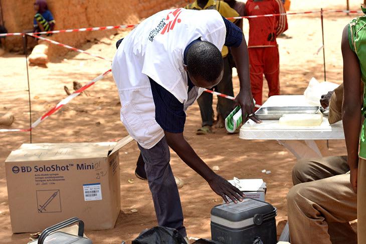 Vaksinasjonskampanje i Mali, april 2018.