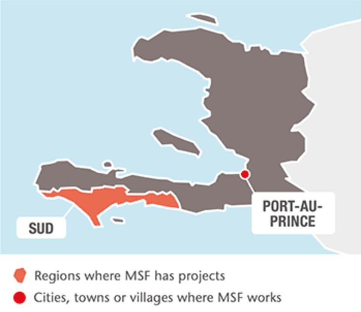 Leger Uten Grensers prosjekter i Haiti 2017