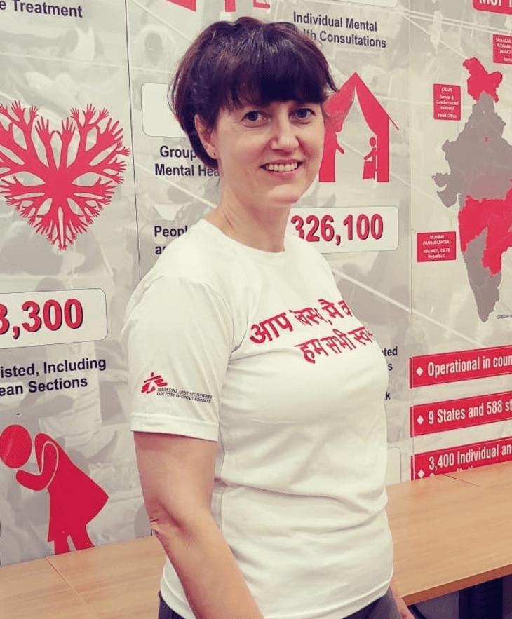 Feltarbeider Trude Brastad har stått i spissen for rekrutteringen av personalet til covid-nødhjelpsresponsen vår i Mumbai