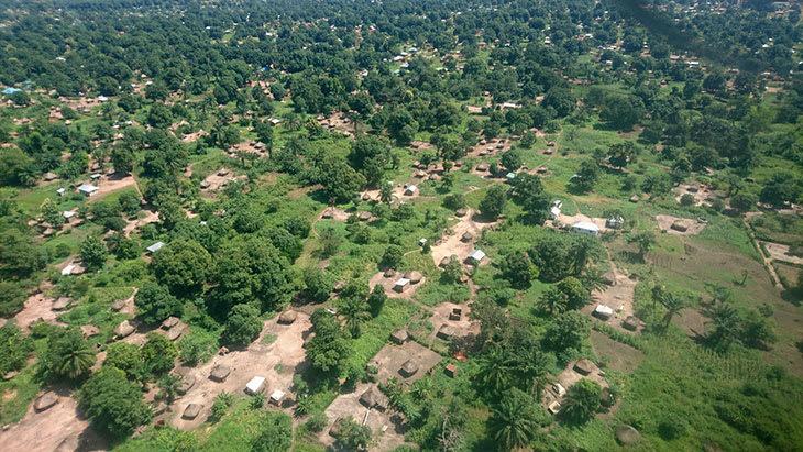 Tukuler i Sør-Sudan.
