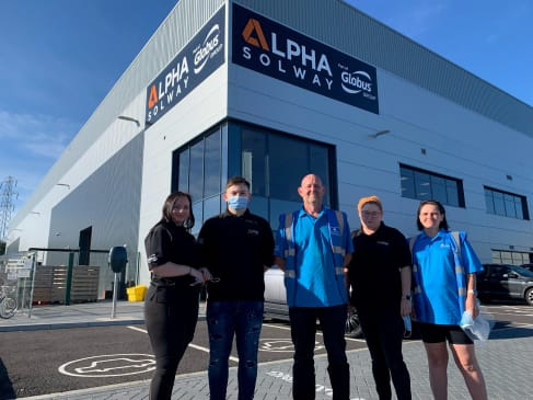 Atherton family joined alpha solway