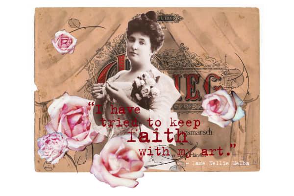 Artwork for Dame Nellie Melba's Farewell