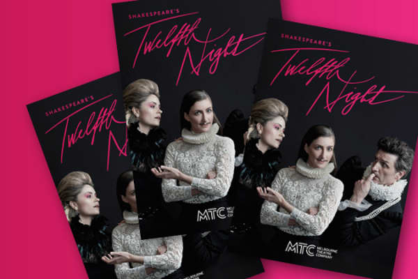 Artwork for Twelfth Night programme