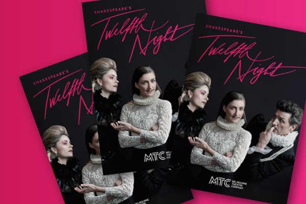Artwork for Twelfth Night programme