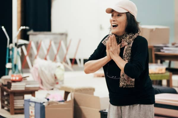 Diana Lin in rehearsals. Photo: Charlie Kinross