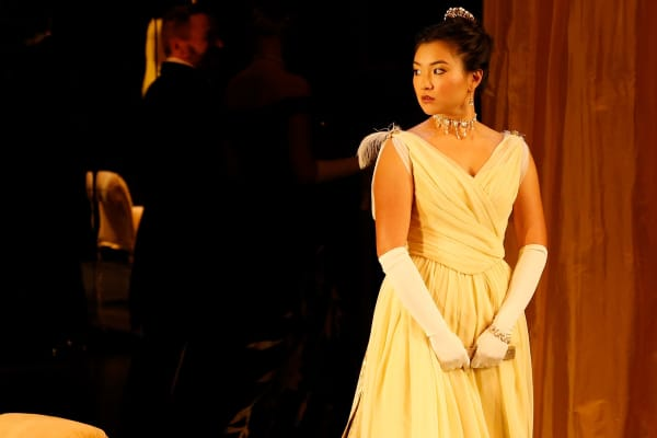 Michelle Lim Davidson in An Ideal Husband. Photo: Jeff Busby