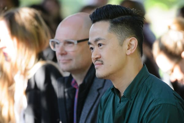 Benjamin Law at the reading of Torch the Place at MPavilion, 2018. Photo: Sarah Walker