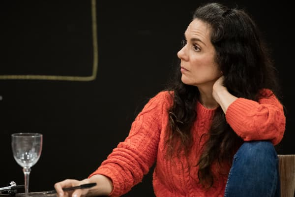 Michala Banas during rehearsals for The Truth. Photo: Charlie Kinross