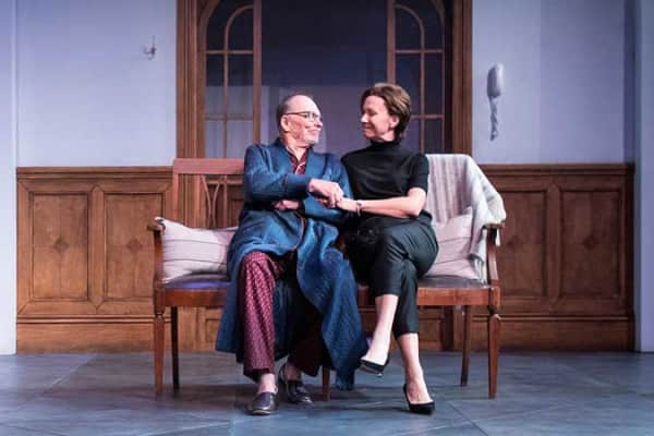 John Bell and Anita Hegh in The Father