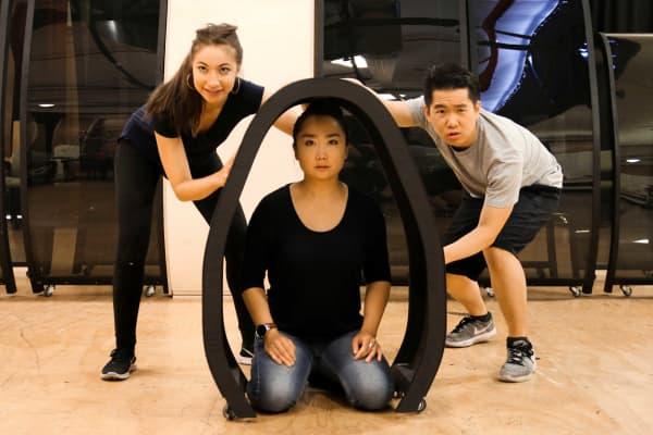 Emina Ashman, Jing-Xuan Chan and Bernard Sam