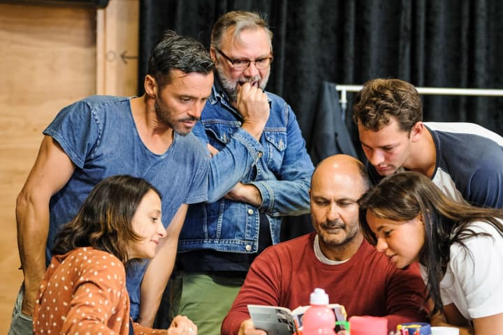 A View from the Bridge in rehearsal